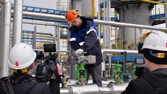 Телевидение на Ставропольском газопроводе