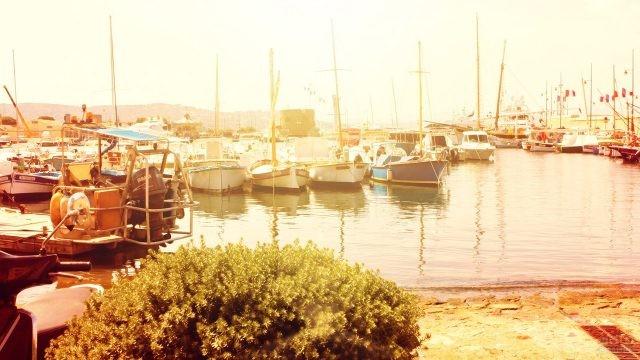 Рассвет в порту Сен-Тропе
