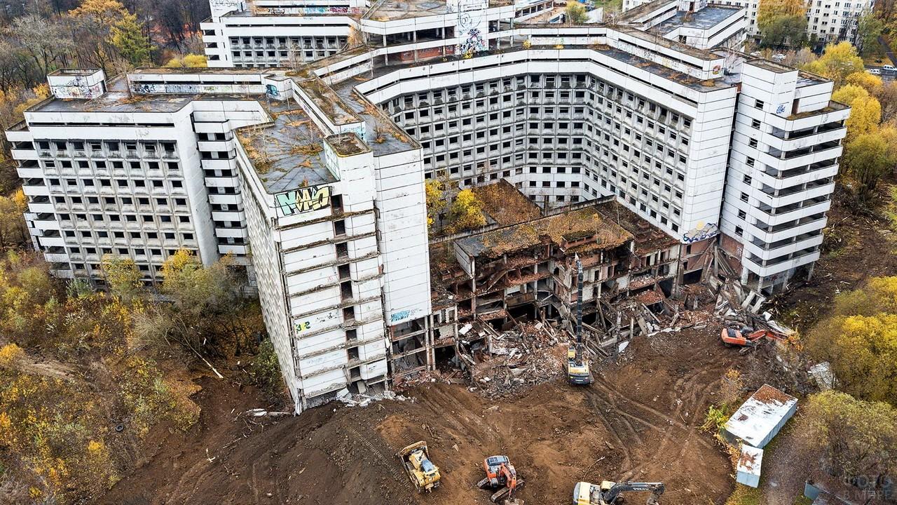 Ховринская больница в Москве