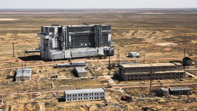 Производственные здания космодрома Байконур