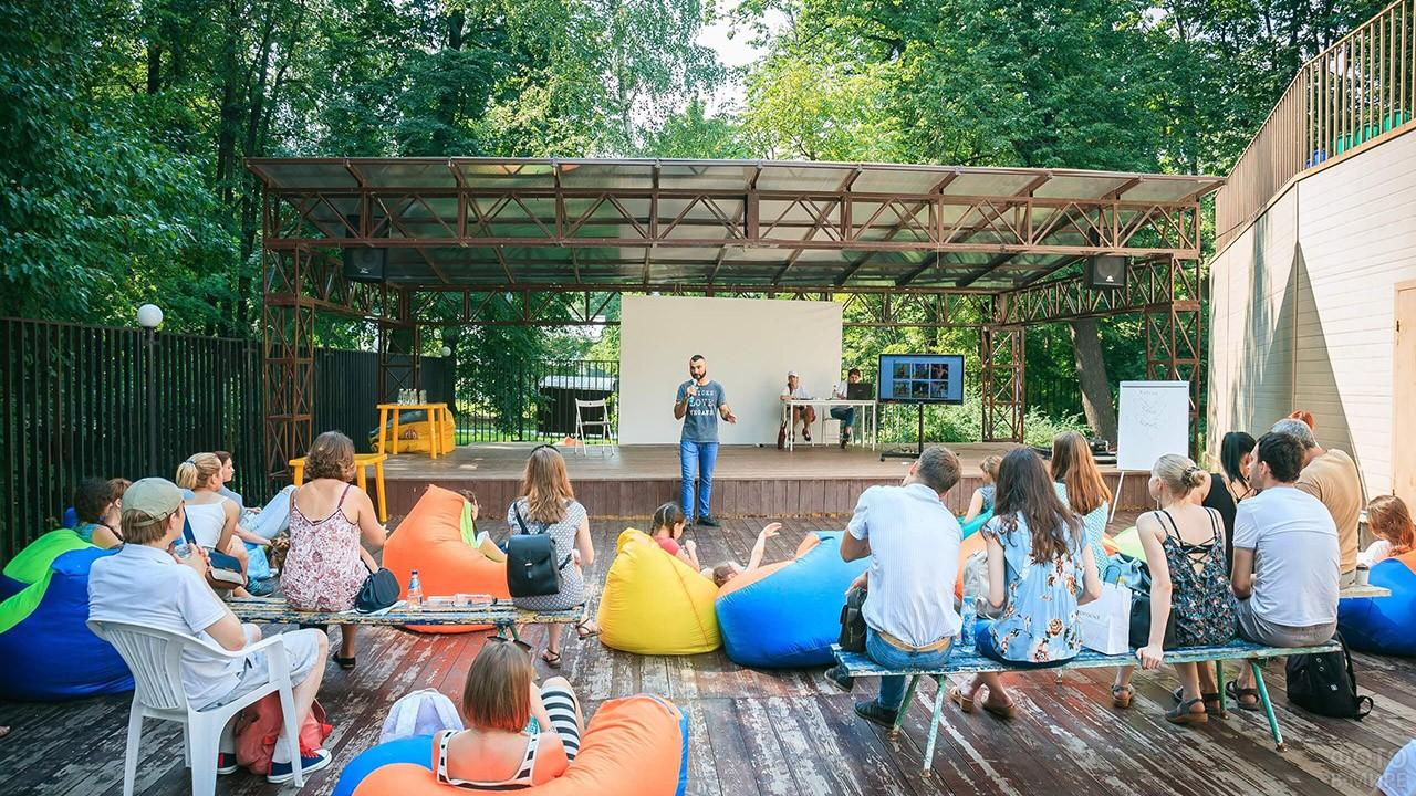 Экологи на ежегодном фестивале