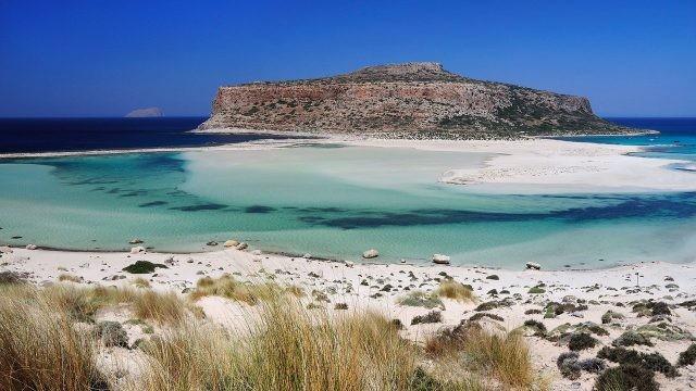 Бухта Балос на острове Крит