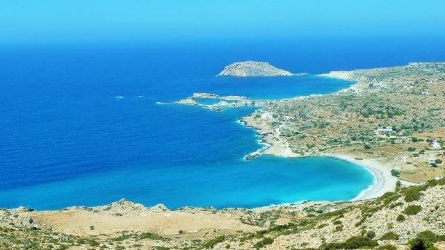 Эгейское море со стороны острова