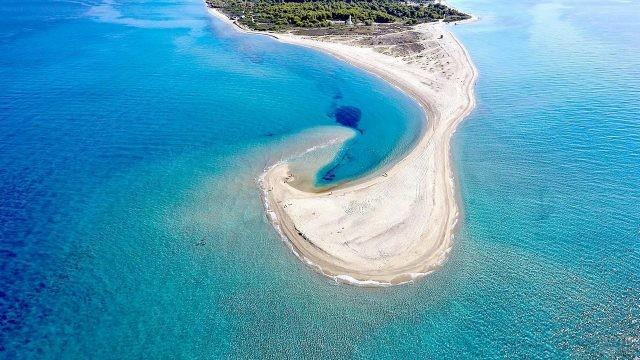 Пляж Поссиди на Кассандре