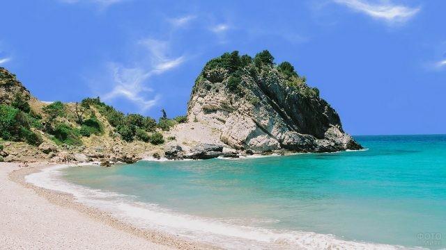 Побережье в Эгейском море