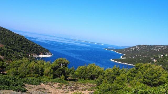 Скирос в Эгейском море