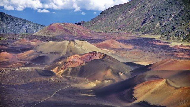 Панорама Национального парка Халеакала