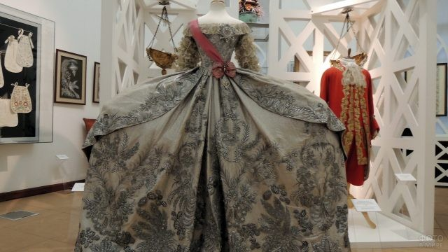 Свадебное платье Екатерины Второй