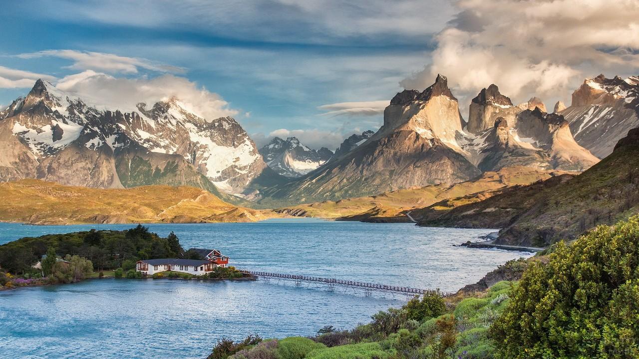 Чилийский Торрес дель Пайне в Патагонии