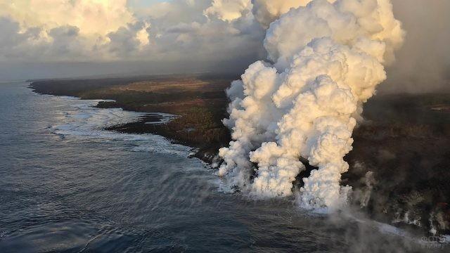 Гавайское побережье Тихого океана
