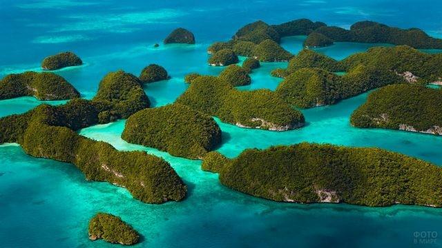 Микронезийские острова в Тихом океане