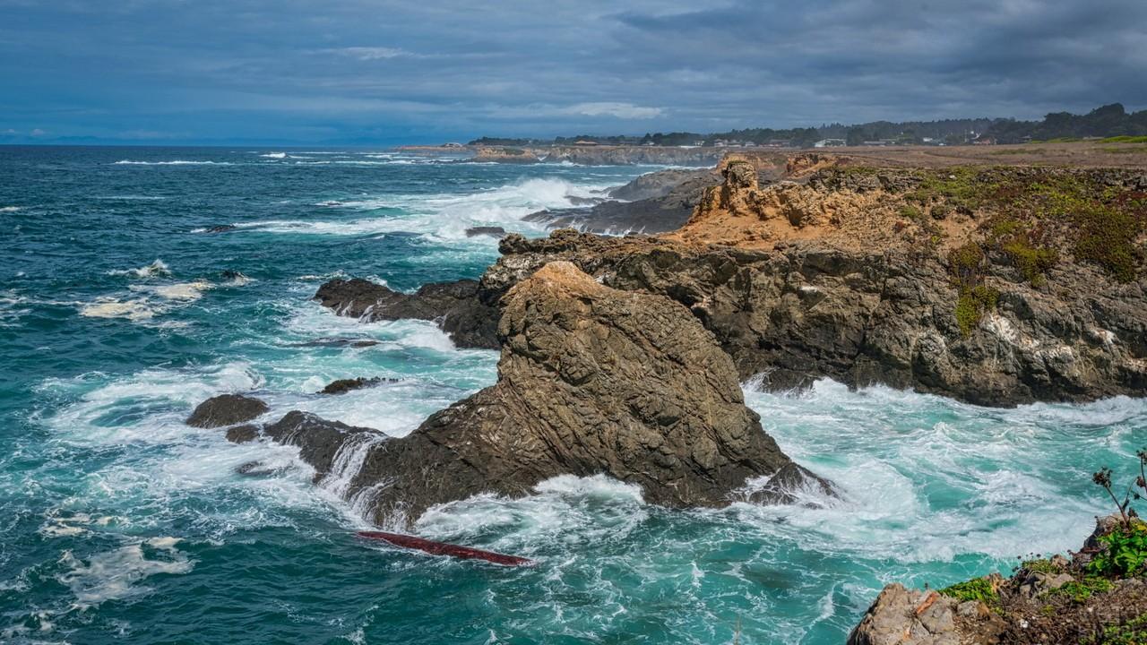 Северное побережье в Калифорнии