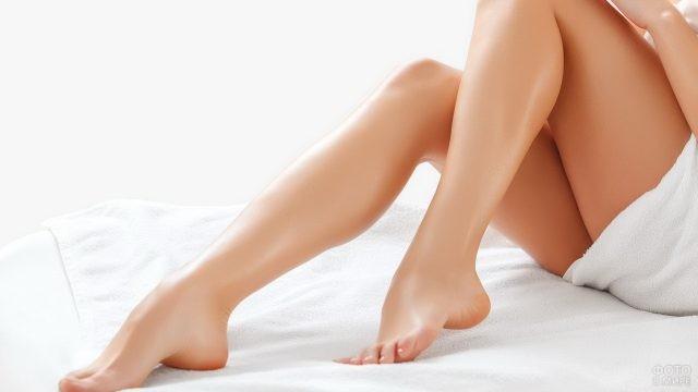 Ухоженные ножки девушки