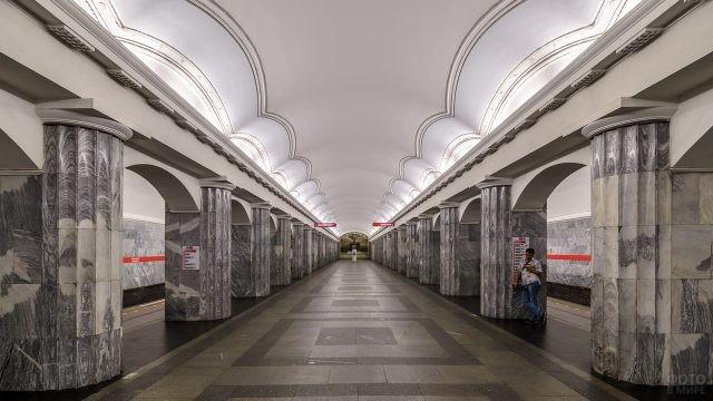 Балтийская станция в метро Санкт-Петербурга