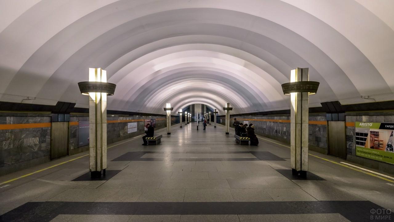 Станция Ладожская