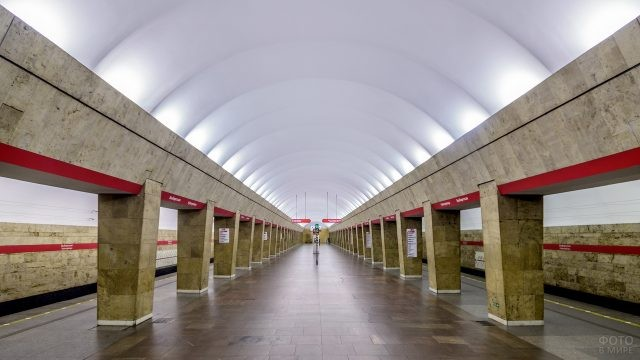 Выборгская станция