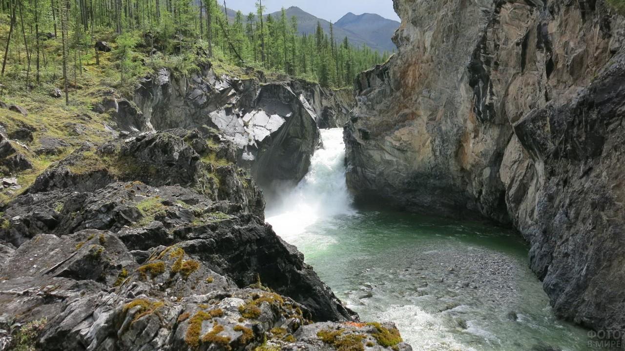 Горная речка Восточных Саян