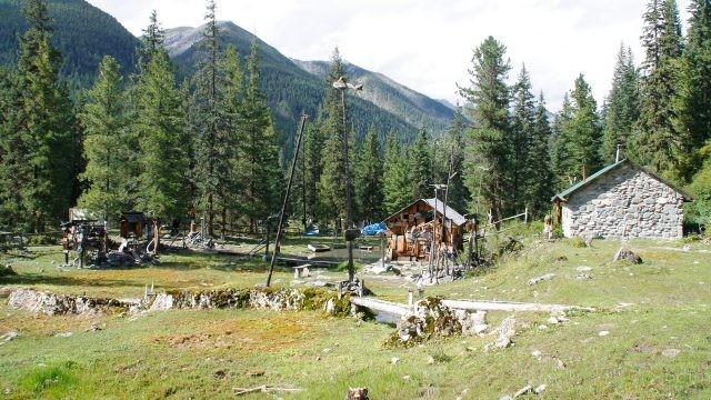 Туристическая зона в долине Шумак