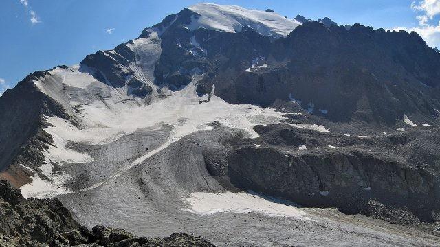 Восточный ледник Сакашиль в Саянах