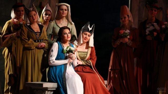 Артисты оперы Иоланта