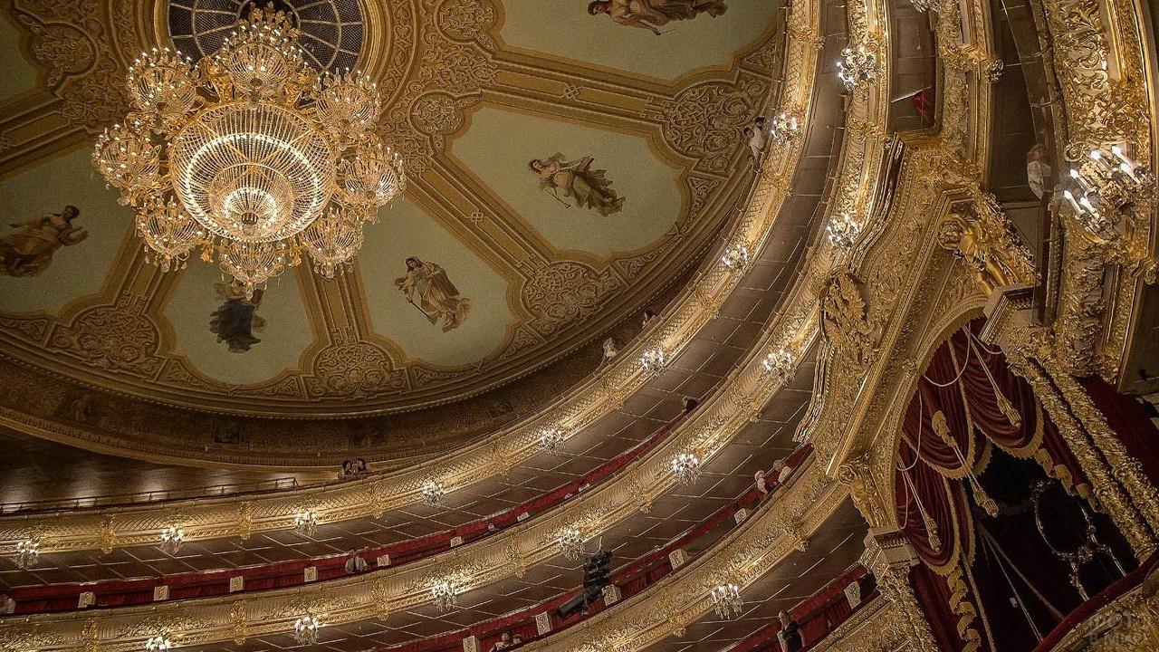 Царская ложа в Михайловском театре