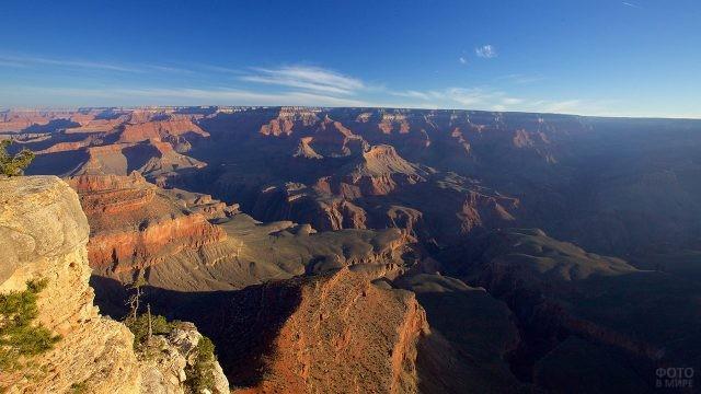 Аэропанорама Великого Каньона