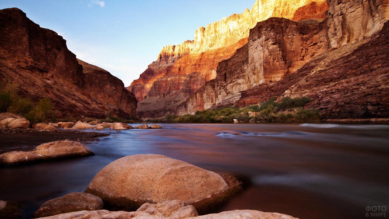 Тихие воды реки Колорадо