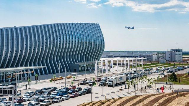 Панорама аэровокзала имени Айвазовского