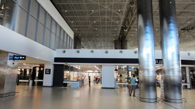 Стерильная зона нового аэровокзала