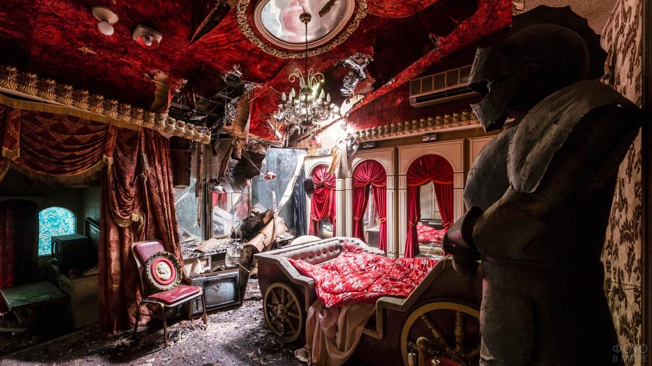 Комната в викторианском стиле