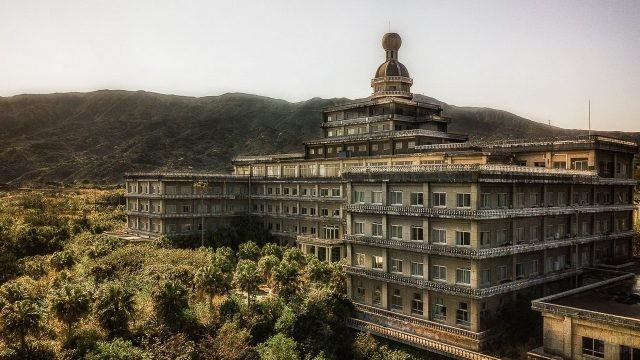 Королевский отель в Японии