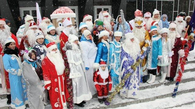 Байкальский конкурс Дедов Морозов и Снегурочек