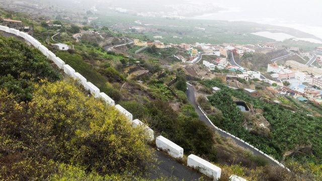 Дорога в горы над Гарачико