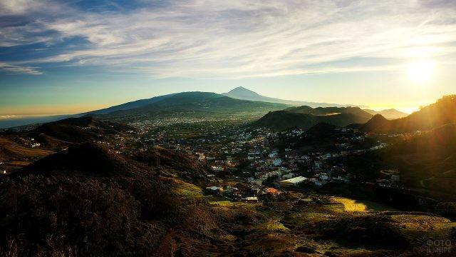 Панорама города Сан-Кристобаль-де-ла-Лагуна