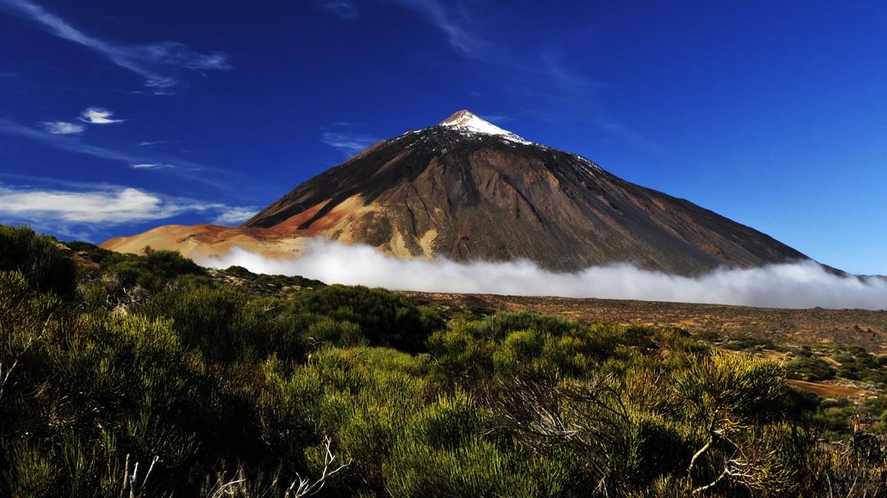 Пик вулкана Эль-Тейде