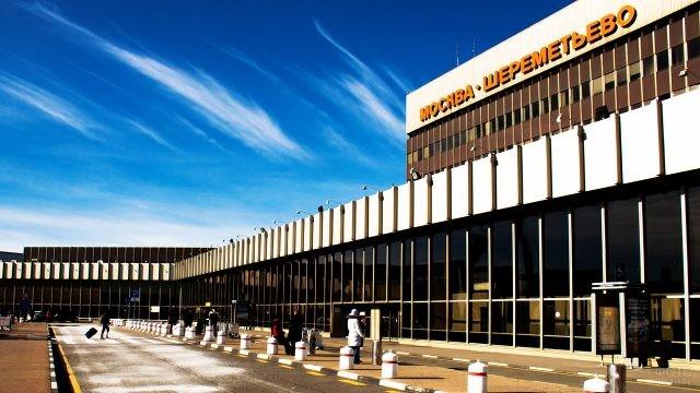 Фасад терминала F в Шереметьево