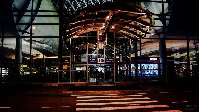 Вход 3 в терминал D
