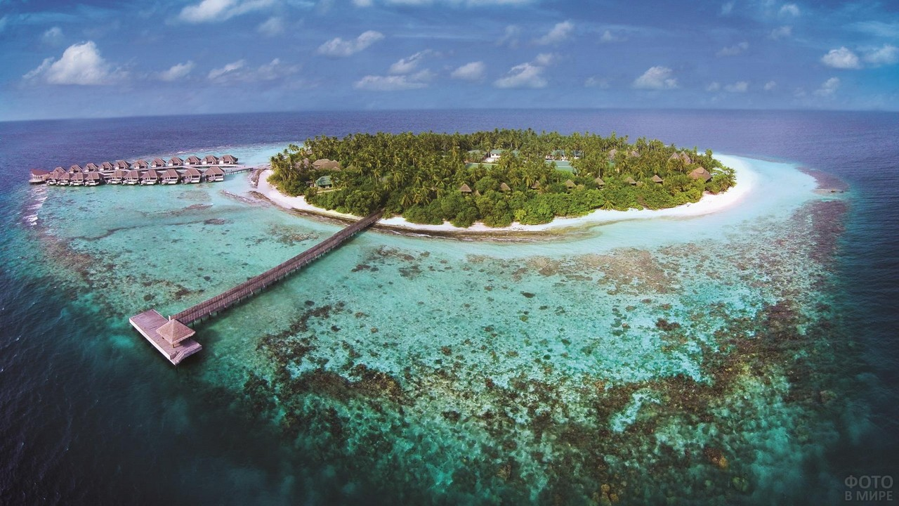 Атолл Гаафу Даалу на Мальдивах
