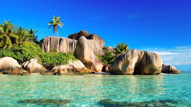 Камни на Сейшелских островах