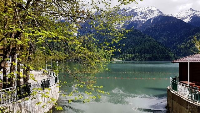 Весна на горном курорте Абхазии