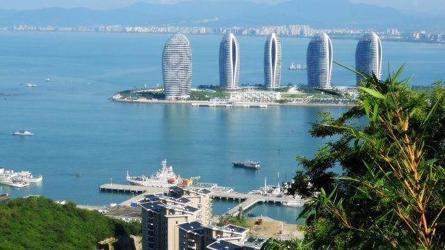 Морской порт курорта Санья