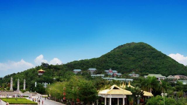 Вид на гору Наньшань
