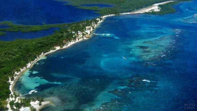 Пляжи острова Тернефф