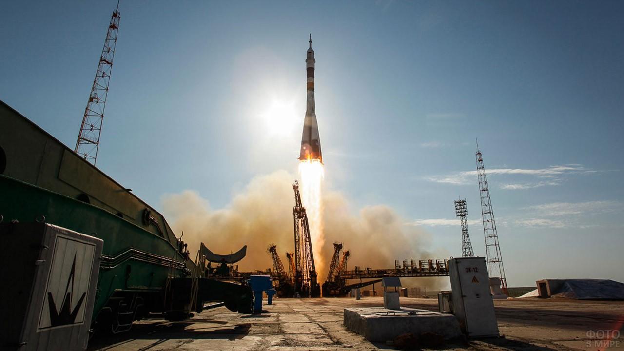 Космический старт на Байконуре