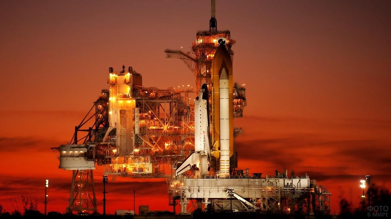 Космодром НАСА на мысе Канаверал