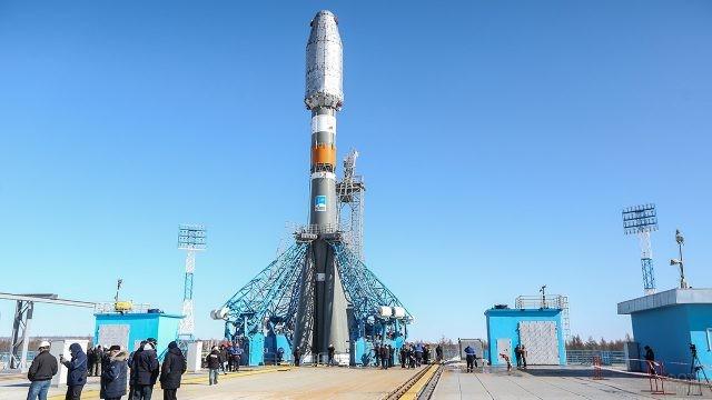 Ракета на космодроме Восточный