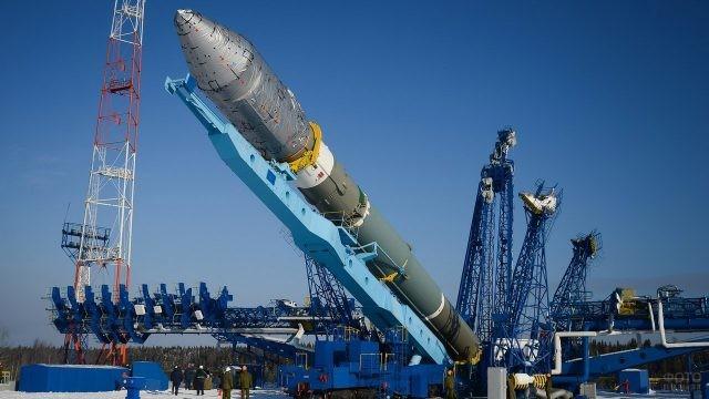 Союз-2 на военном космодроме Плесецк