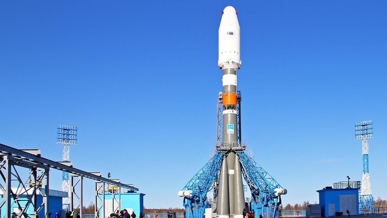 Стартовая площадка космодрома Восточный