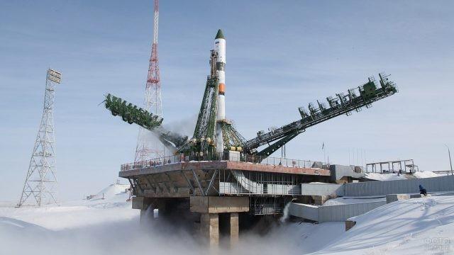 Запуск на орбиту ТГК Прогресс МС-08