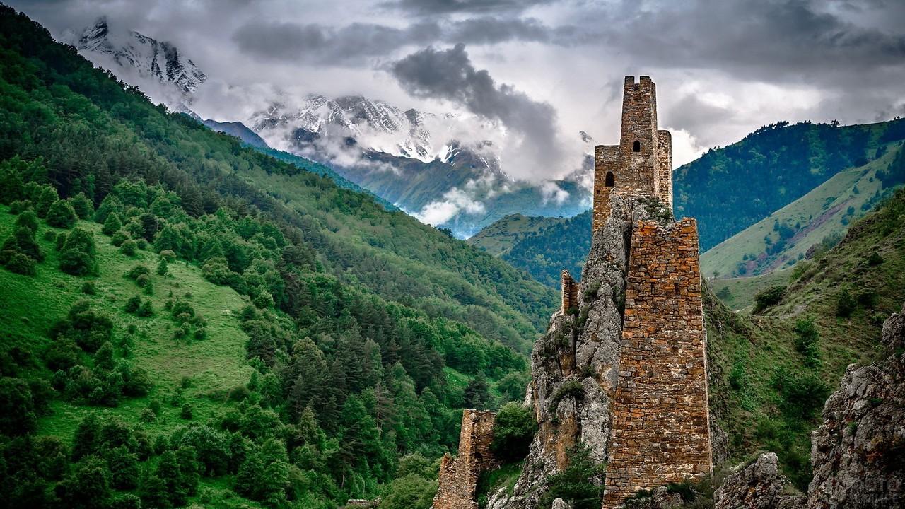 Башни Вовнушки в Ингушетии